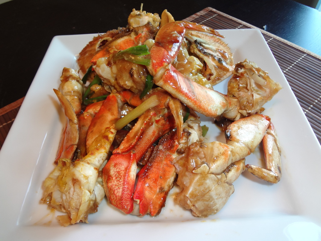 Ginger and Scallion Crab Recipe (姜葱蟹) - Mimi's Kitchen